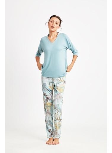Catherines Pijama Takım Yeşil